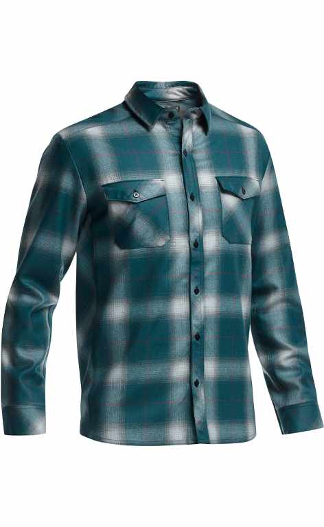 Icebreaker Lodge LS Shirt Plaid Night-30