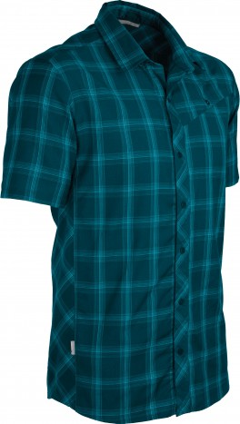 Icebreaker Departure SS Shirt Plaid Night-30