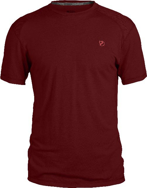FjallRaven Mard T-shirt Ox Red-30