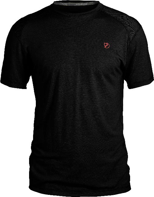 FjallRaven Mård T-shirt Black-30