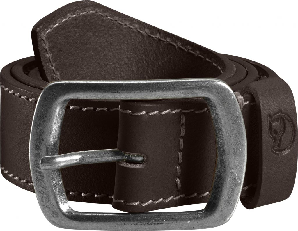 FjallRaven Milo Belt 4cm. Leather Brown-30