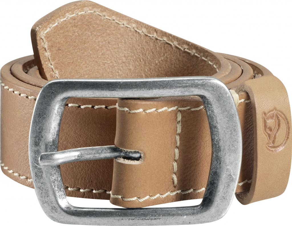 FjallRaven Milo Belt 4cm. Leather Natural-30