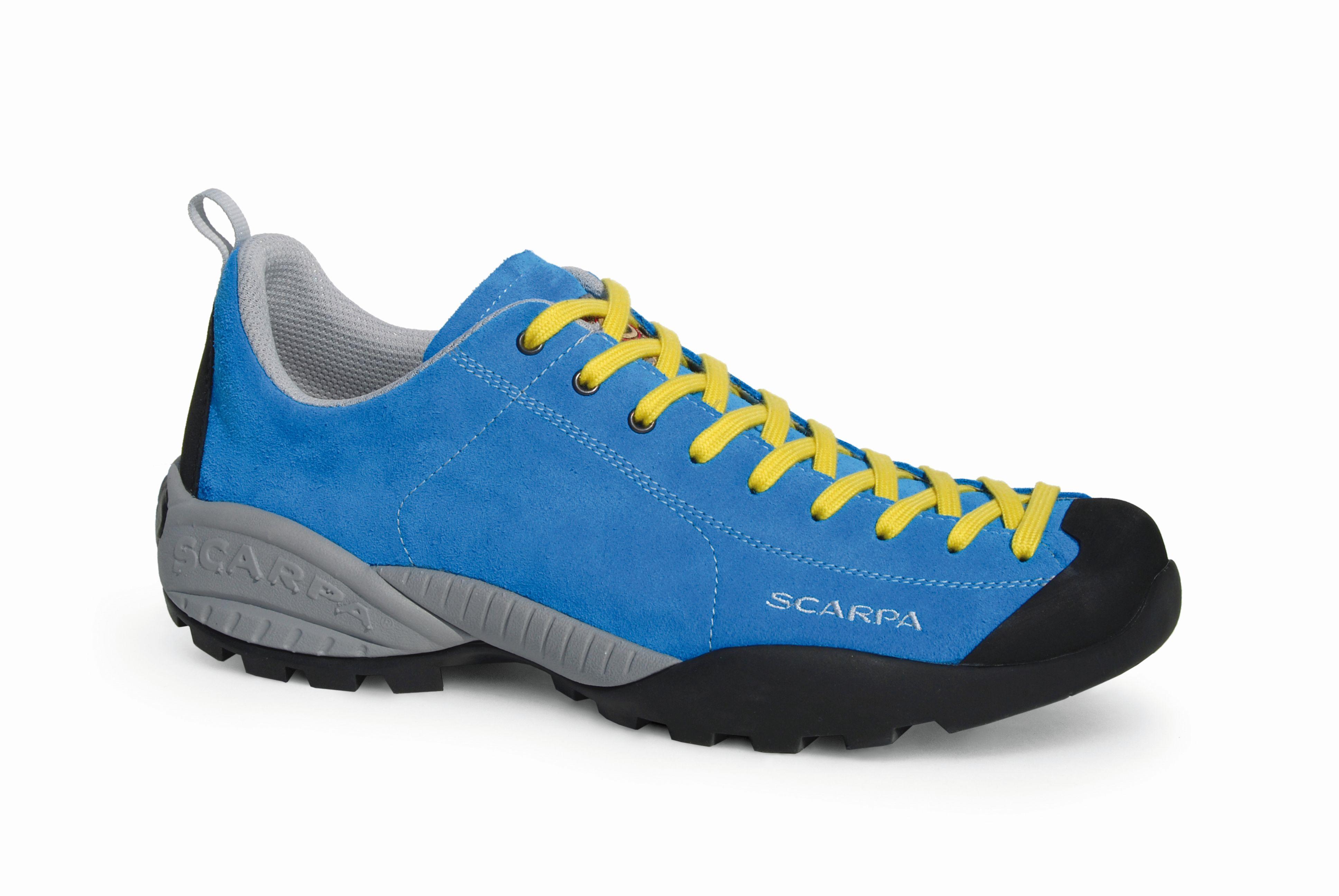 Scarpa Mojito Lt Vivid blue/Yellow-30