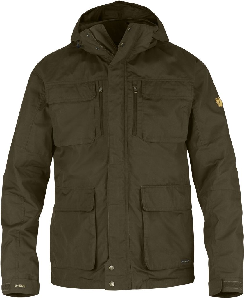 FjallRaven Montt 3 in 1 Hydratic Jacket Dark Olive-30