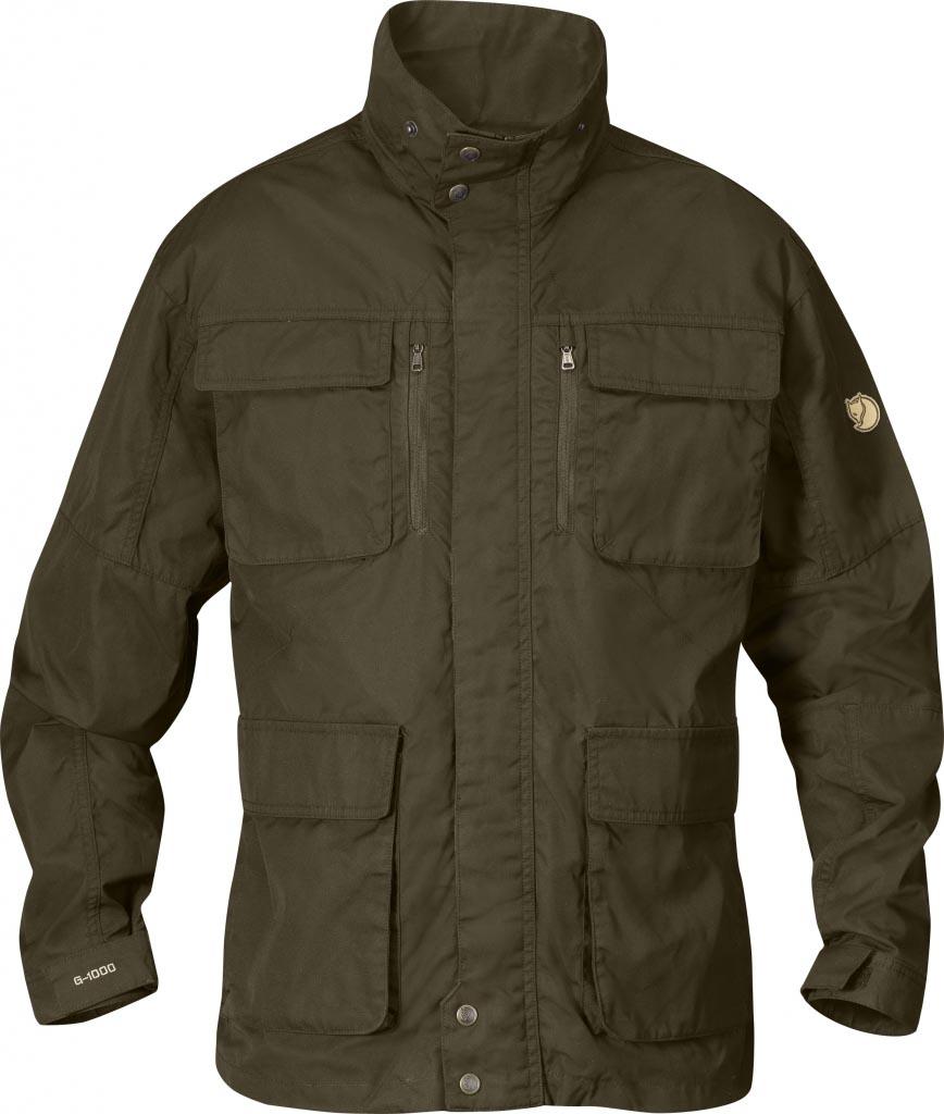 FjallRaven Montt Jacket Dark Olive-30