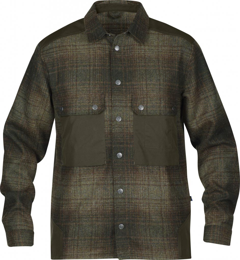 FjallRaven Mountaineering Shirt No.3 Dark Olive-30