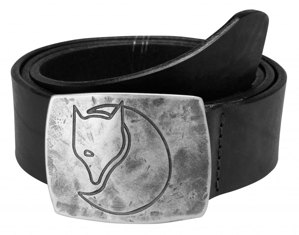 FjallRaven Murena Silver Belt Black-30