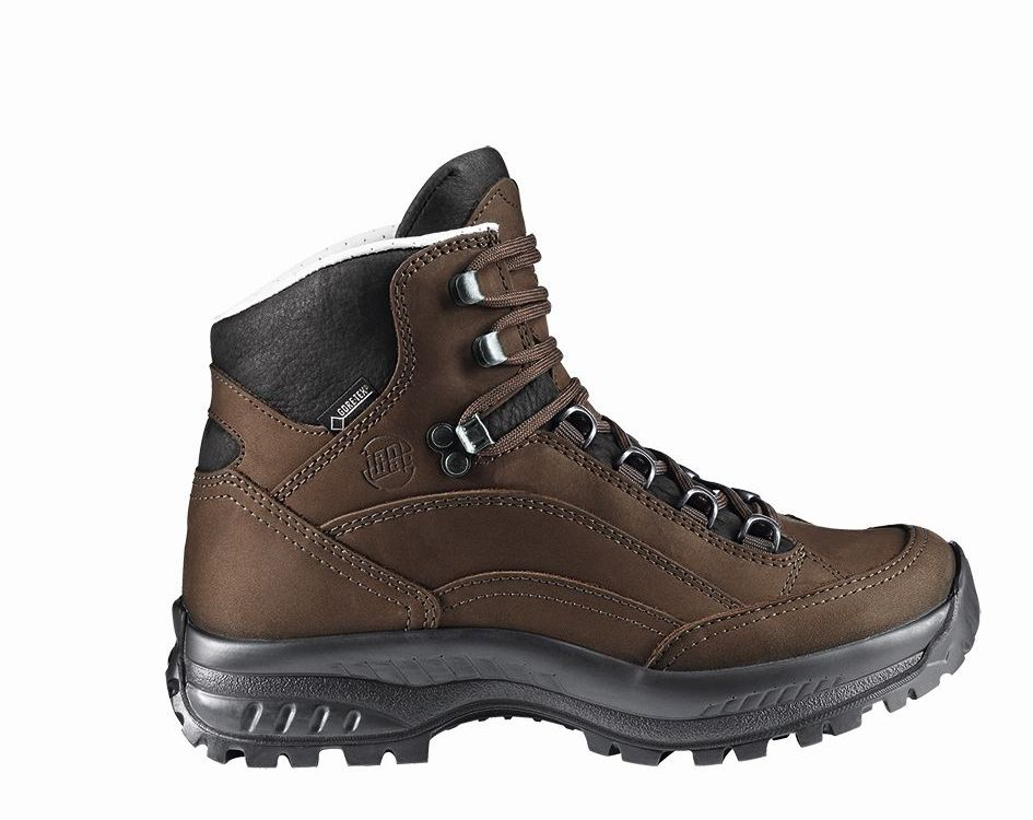 Hanwag Canyon Wide Lady GTX Brown – Erde-30