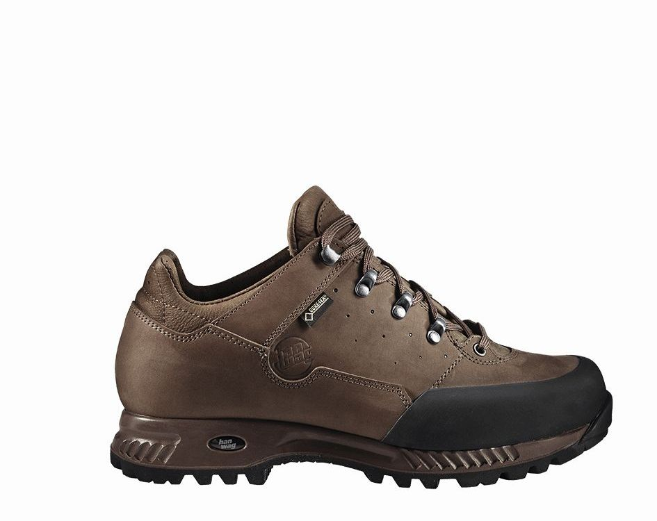Hanwag Tudela Low GTX Brown Erde-30