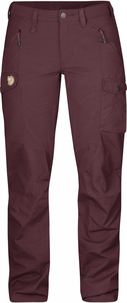 FjallRaven Nikka Trousers Dark Garnet-30