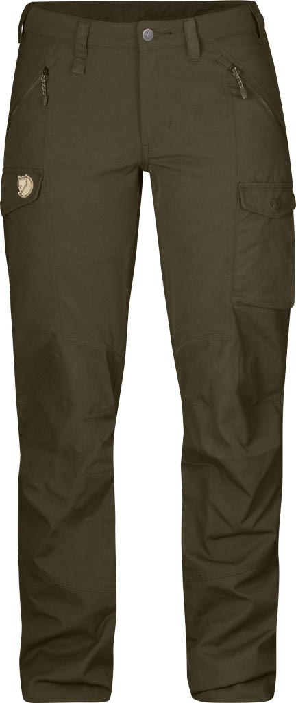 FjallRaven Nikka Trousers Dark Olive-30