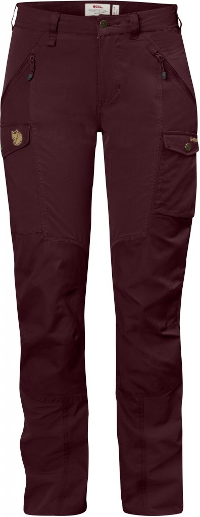 FjallRaven Nikka Curved Trousers Dark Garnet-30