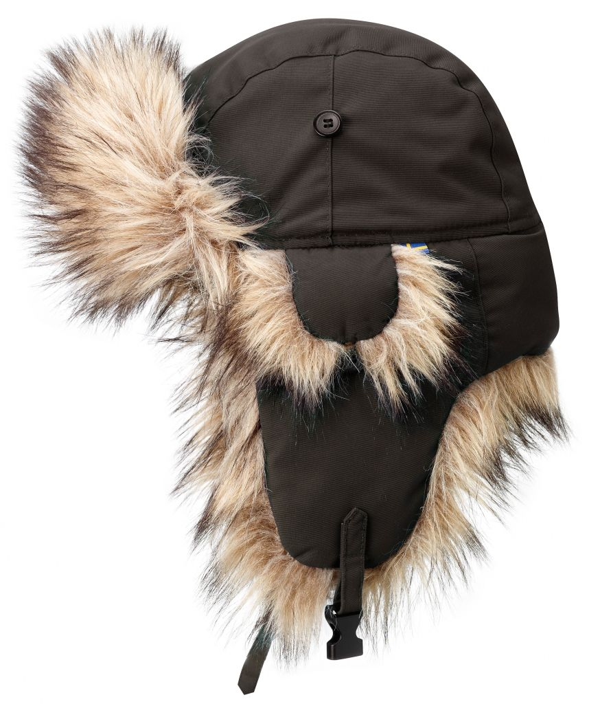 FjallRaven - Nordic Heater Black Brown - Hats & Caps - M