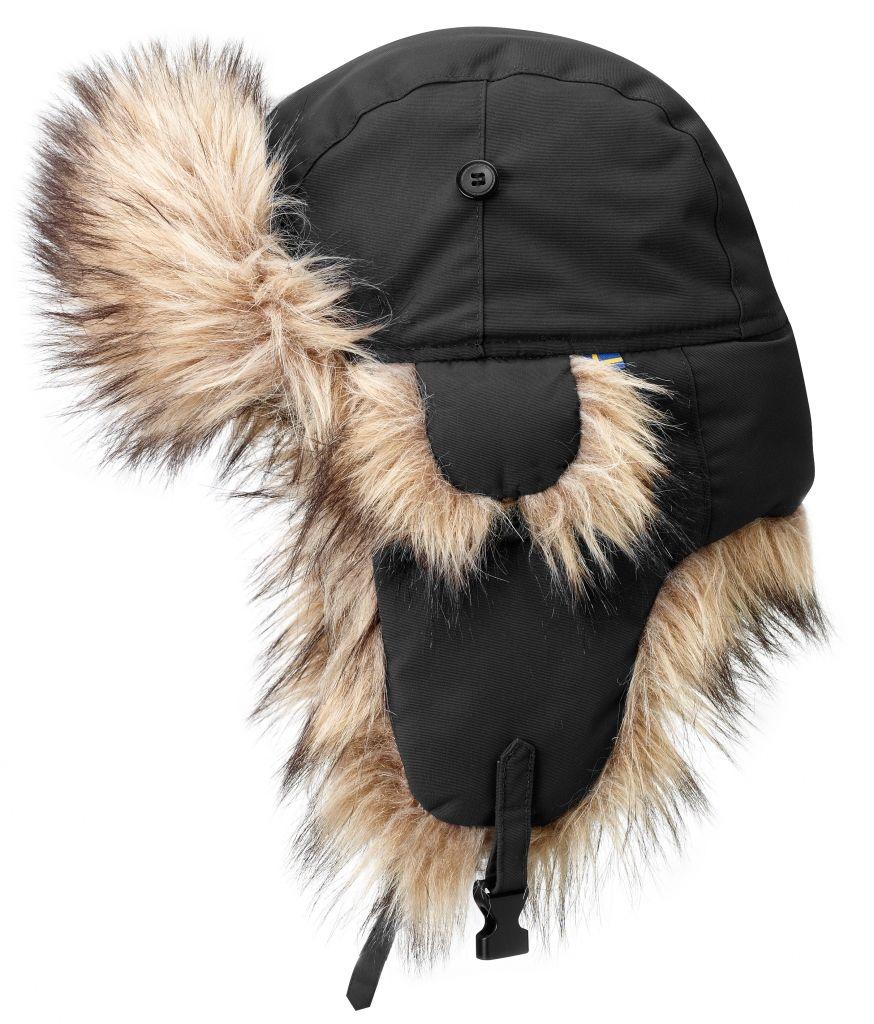 FjallRaven - Nordic Heater Black - Hats & Caps - L