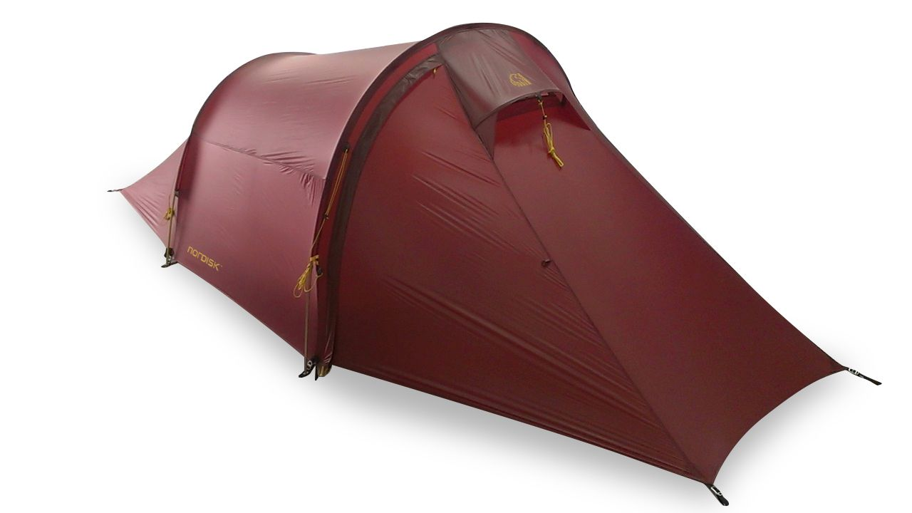 Nordisk Halland 2 LW SI Aluminium Burnt Red-30