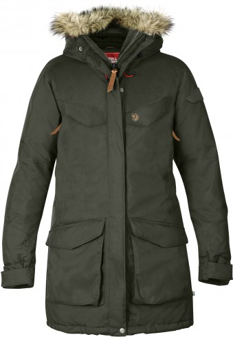 FjallRaven Nuuk Parka Mountain Grey-30