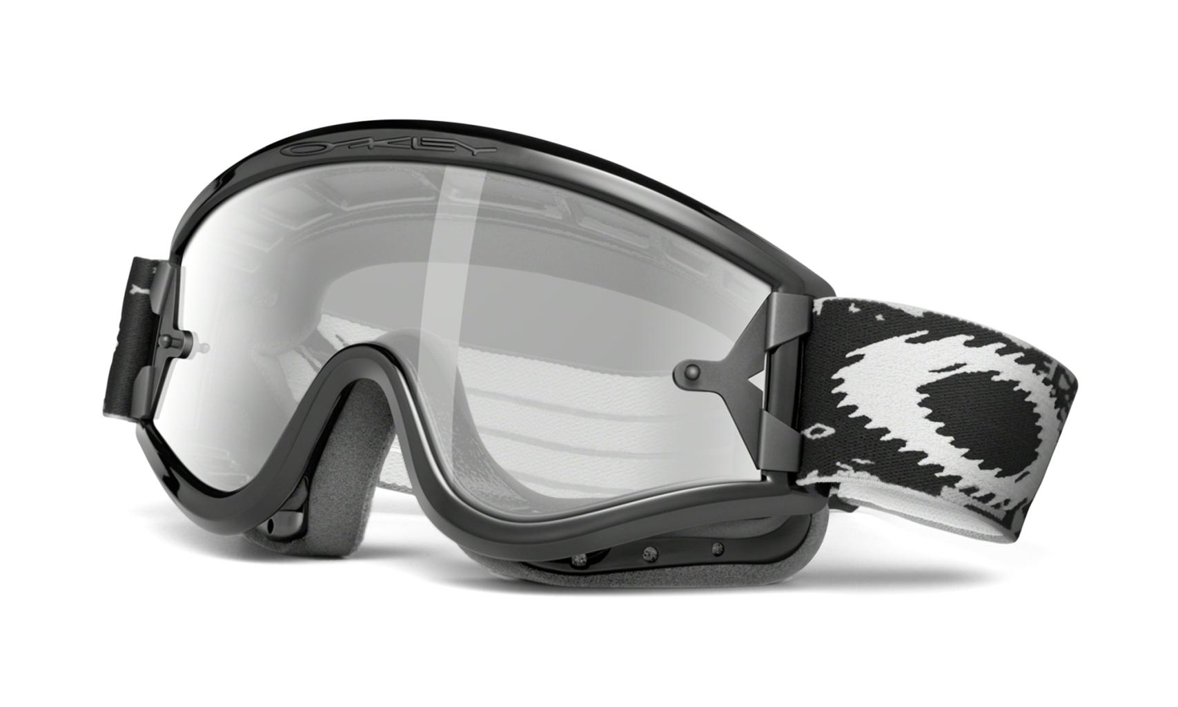 Oakley L Frame MX L-Frame Sand Jet Black/Grey-30