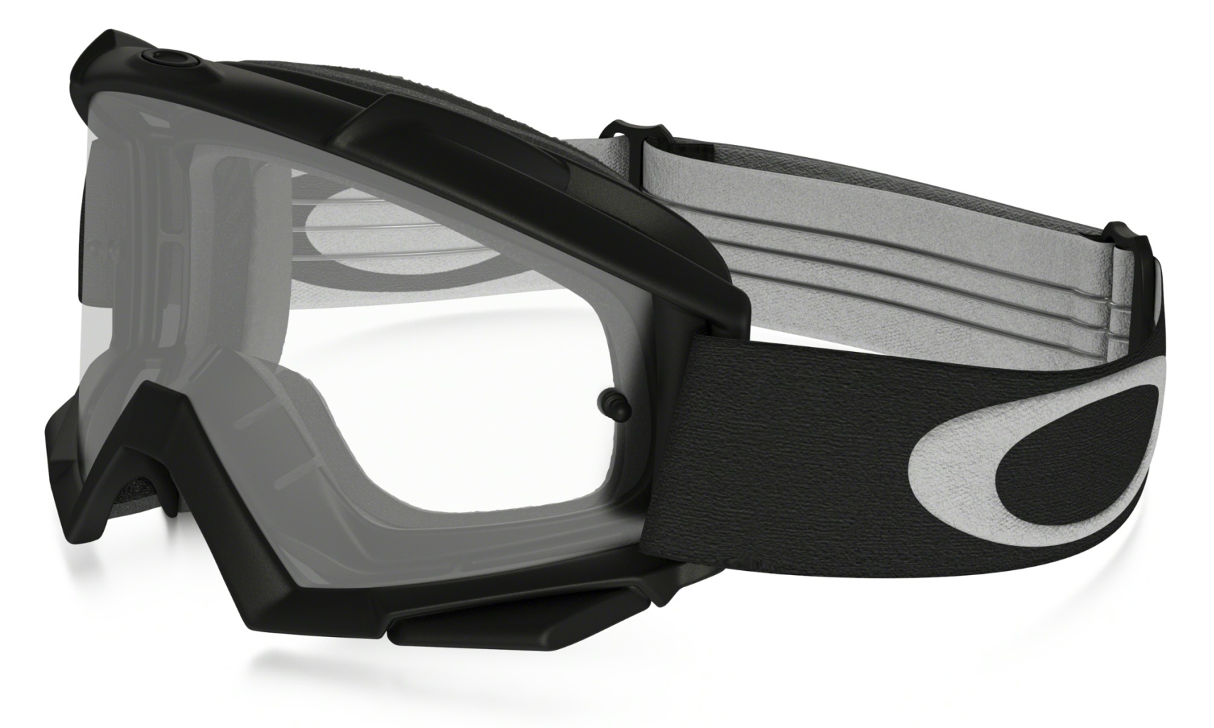 Oakley Proven MX Matte Black w/ Clear-30