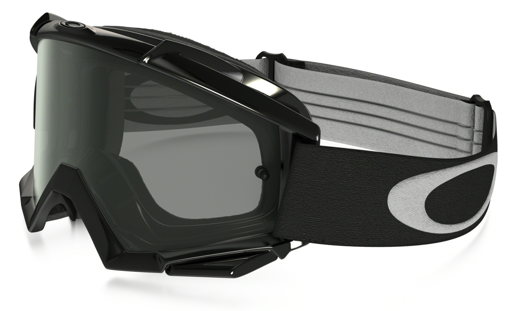 Oakley Proven MX Jet Black w/ Dark Grey-30