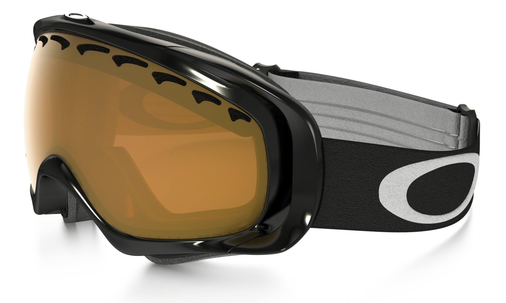 Oakley Crowbar Snow Jet Black w/Persimmon-30