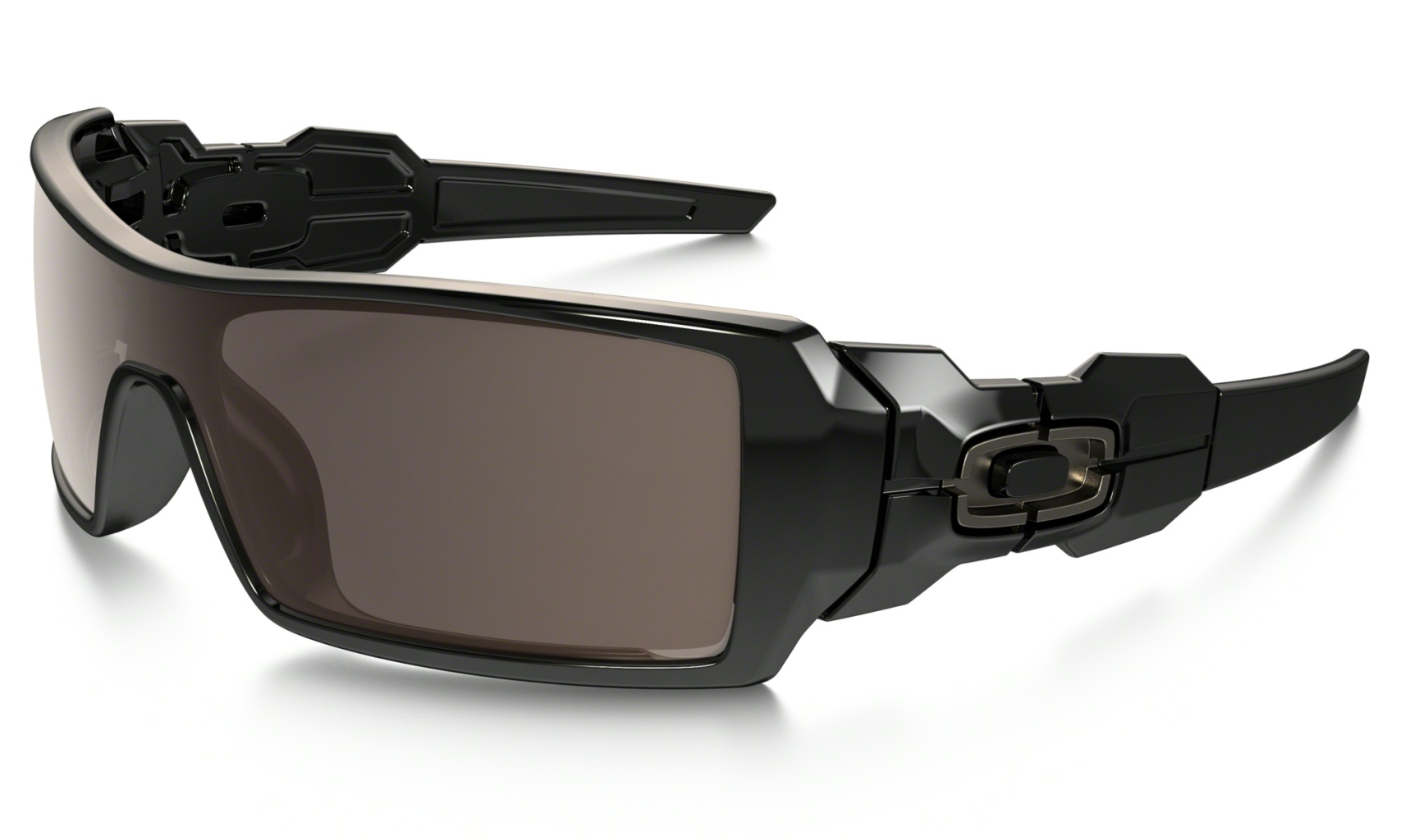 Oakley Oil Rig Polished Black w/Warm Grey-30