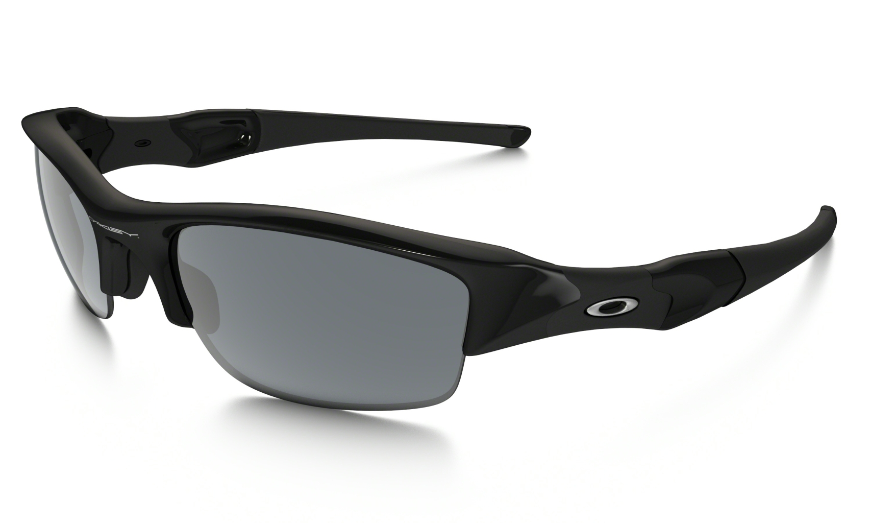 Oakley Flak Jacket Jet Black w/Blk Iridium-30