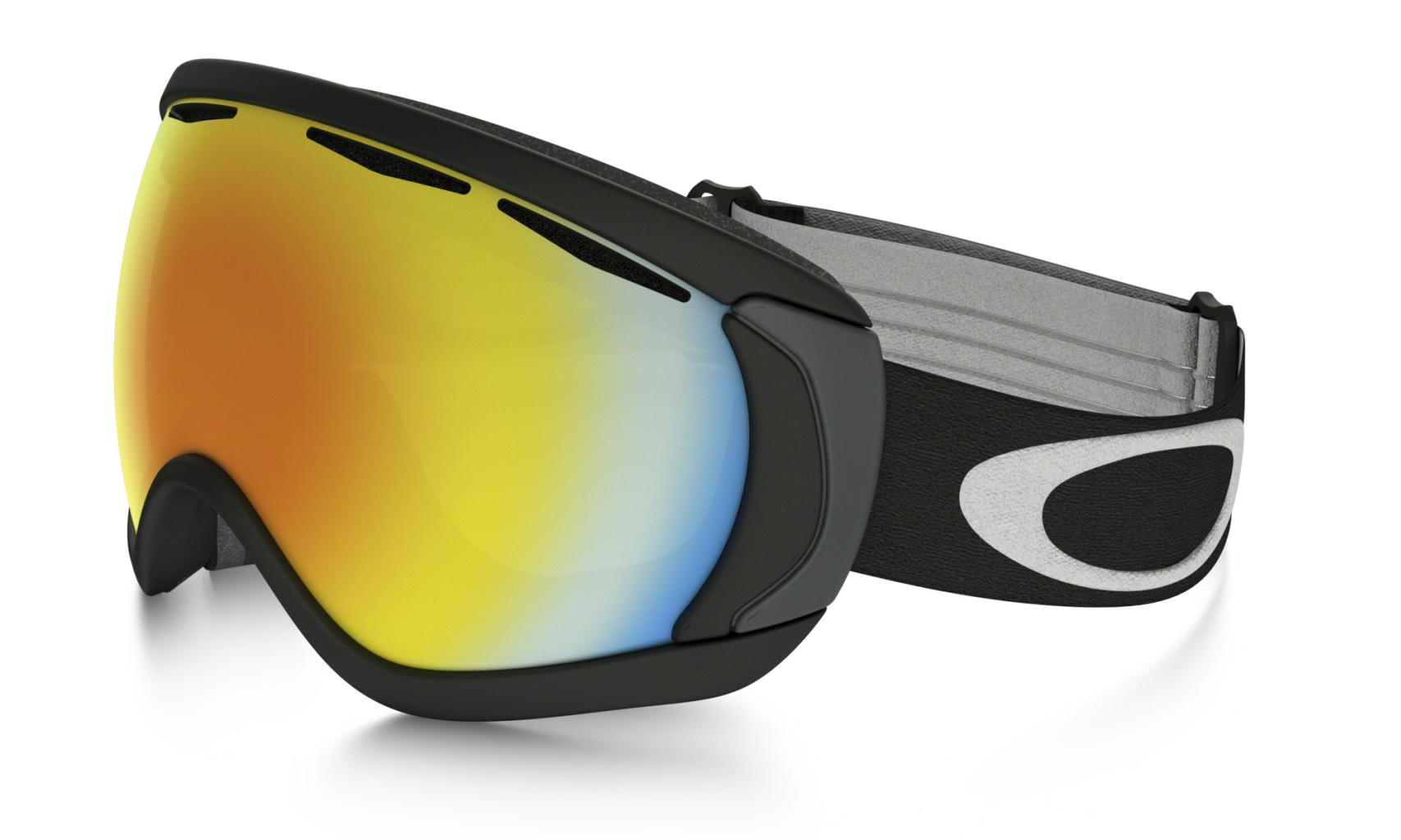 Oakley Canopy Matte Black w/Fire Iridium-30