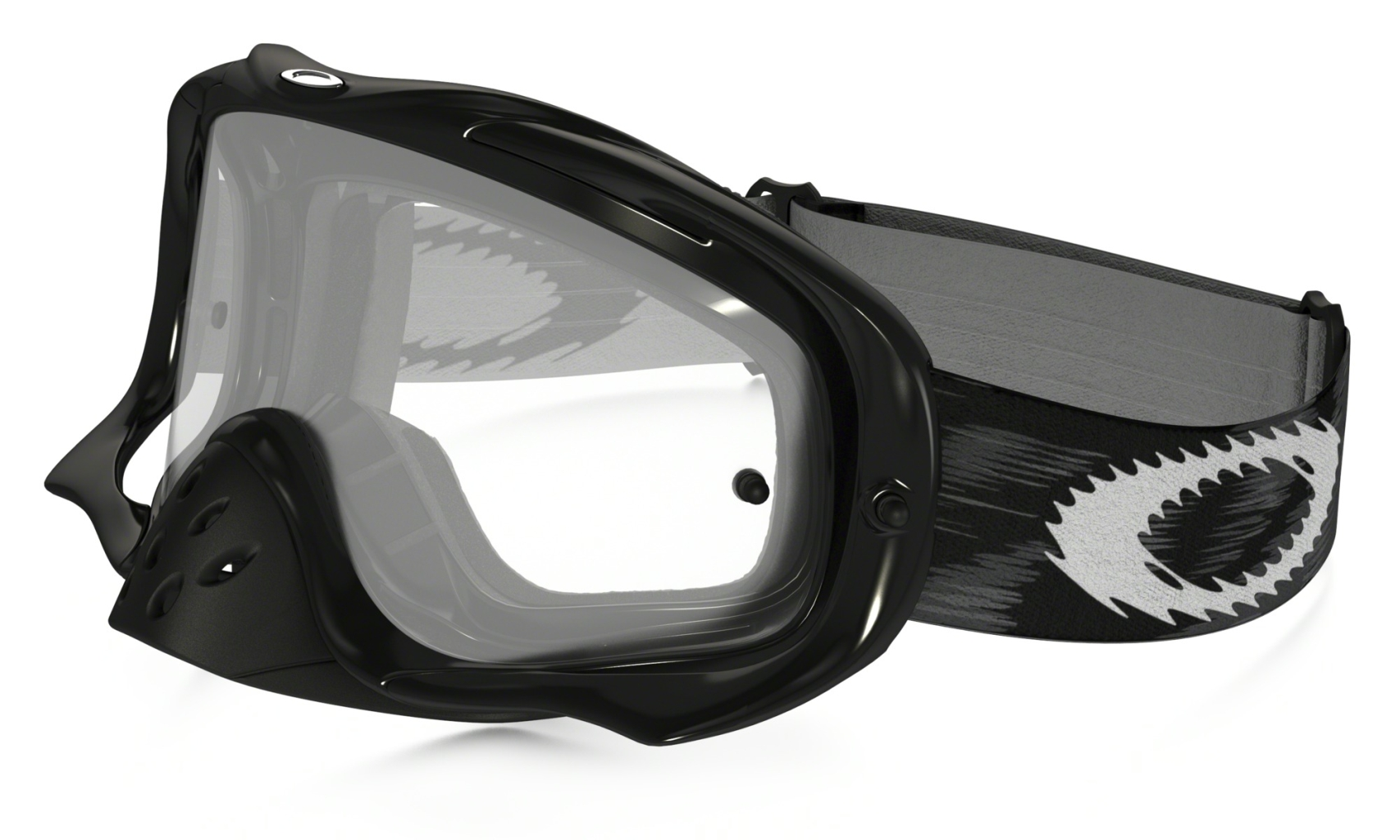 Oakley Crowbar MX Jet Black Speed w/Clear-30