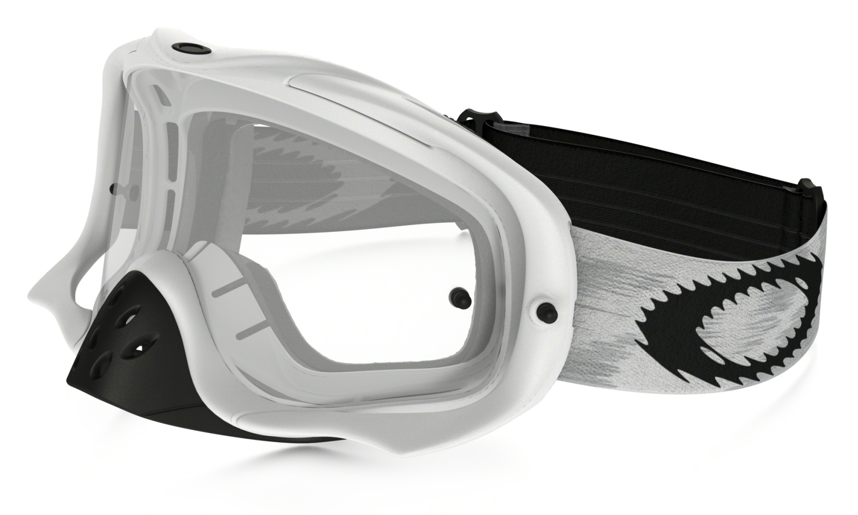 Oakley Crowbar Mx Matte White Speed w/clear-30