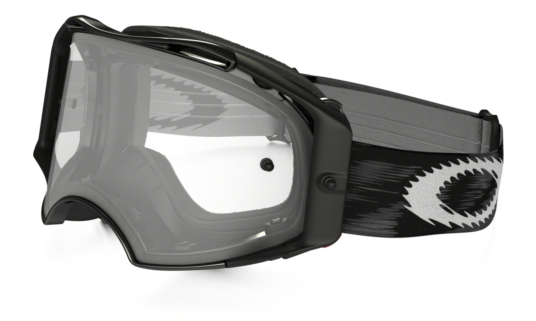 Oakley Jet Black Speed w/Clear-30