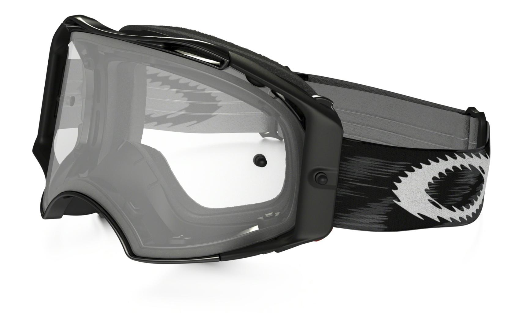 Oakley Jet Black Speed w/Clear-30