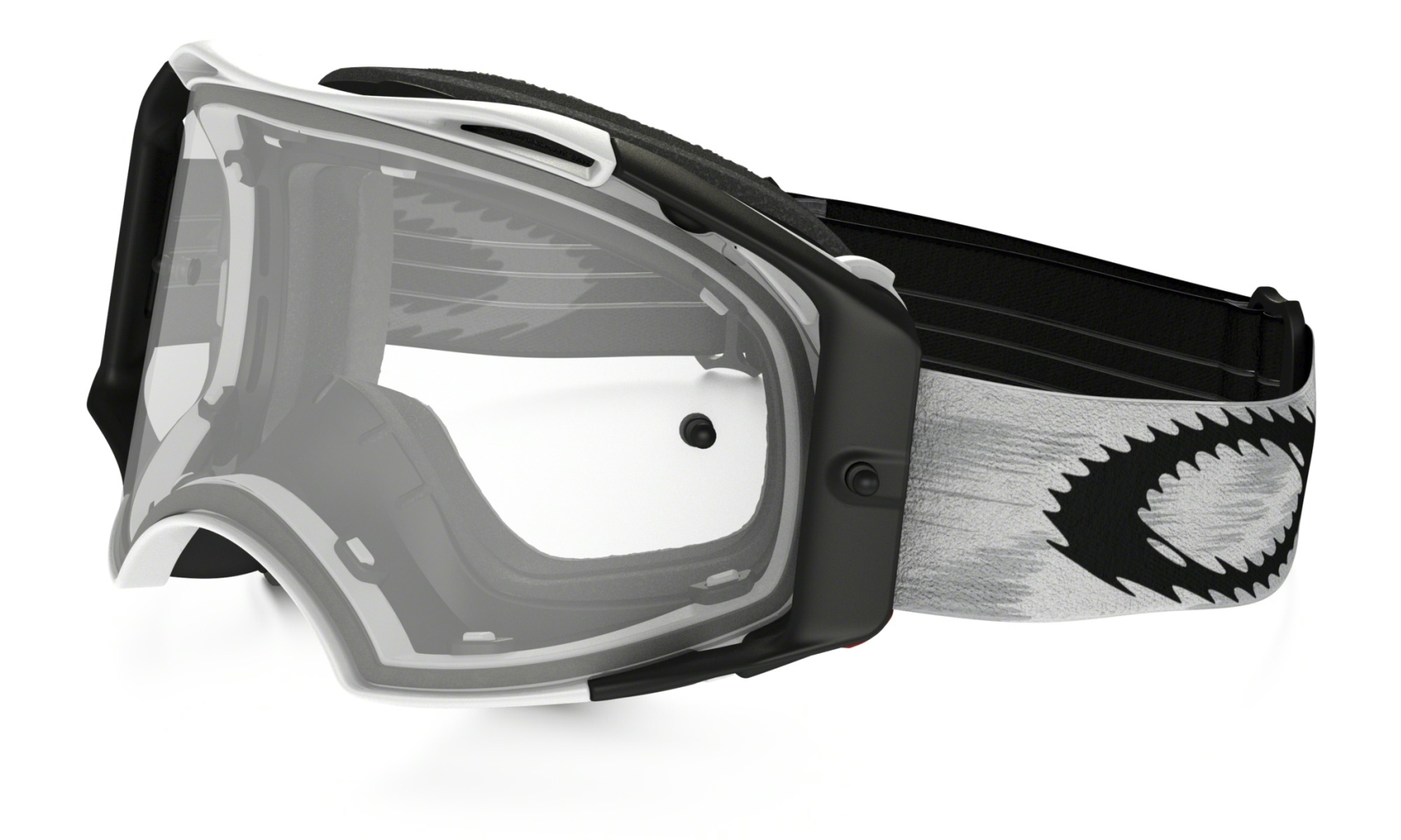 Oakley MX Matte White Speed w/Clear-30
