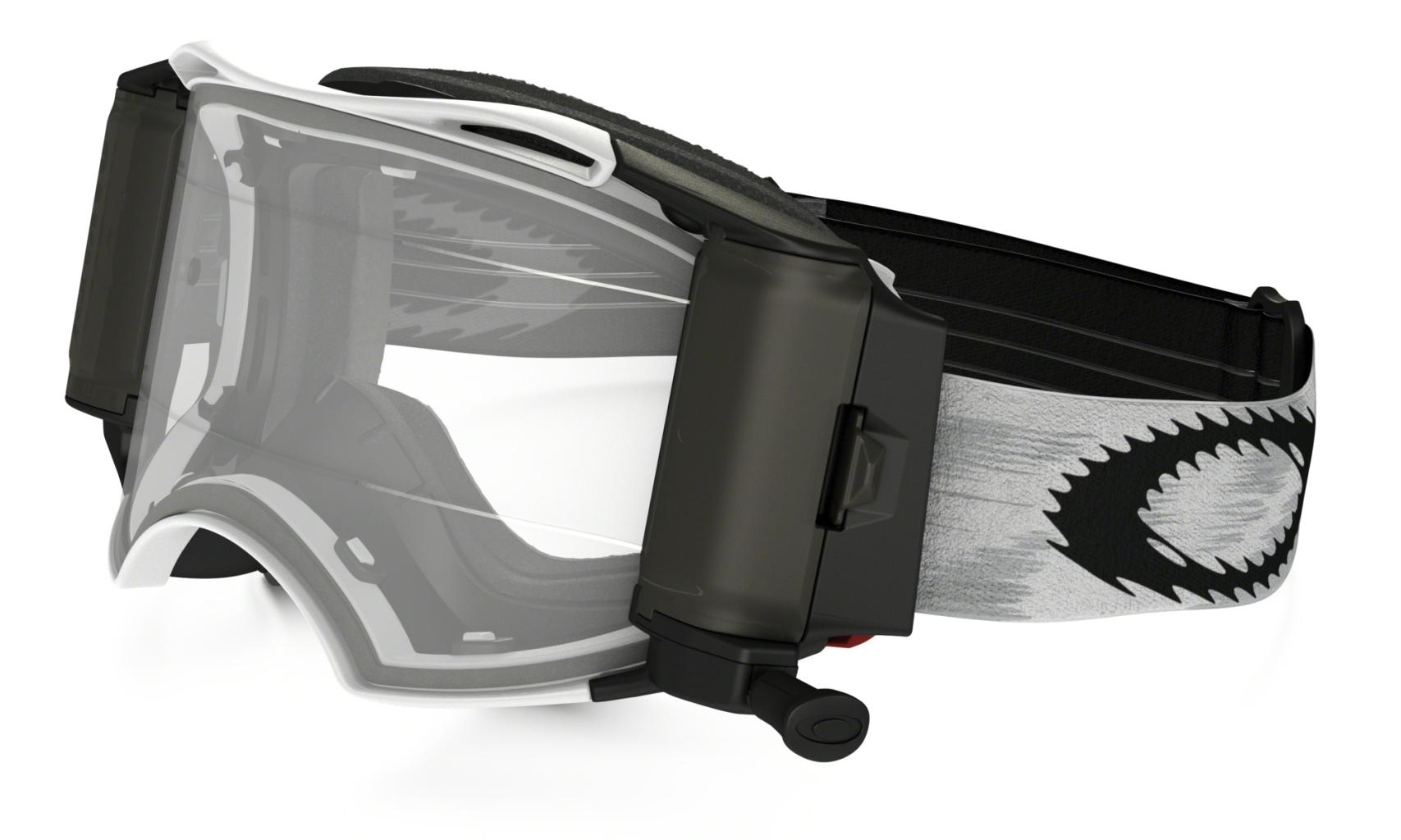 Oakley MX MatteWht Speed w/RR RollOff-30
