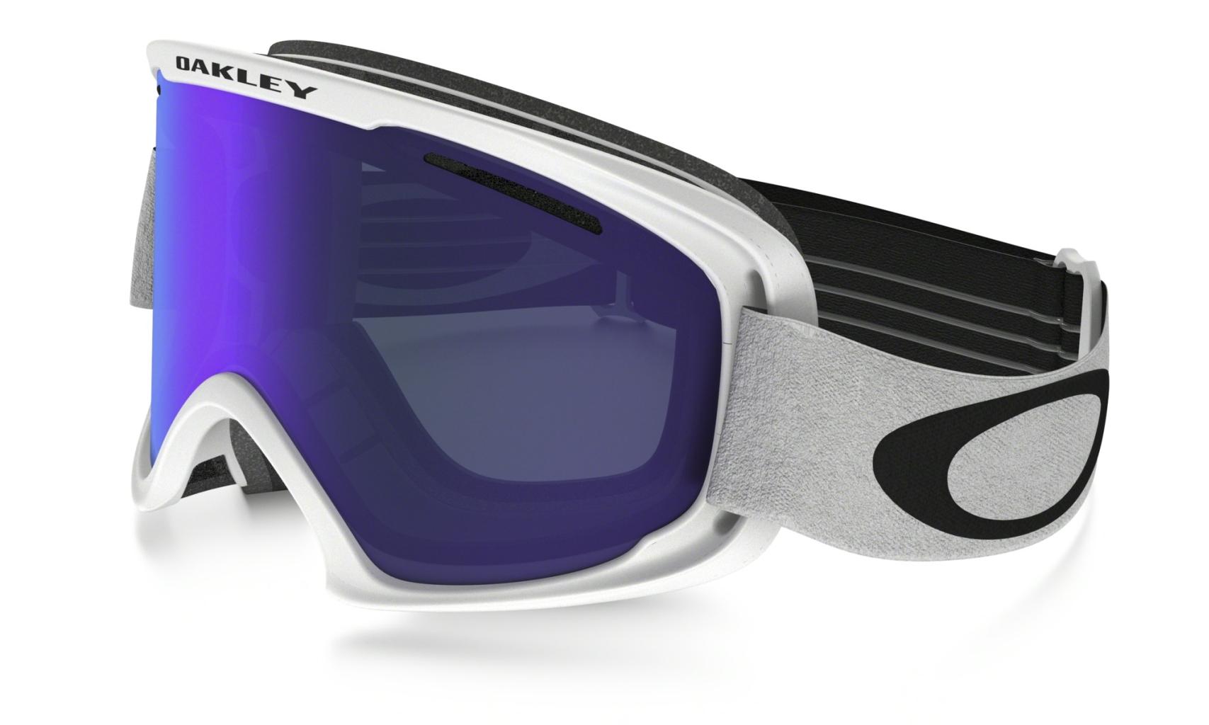 Oakley O2 XL Matte White w/Violet Irid-30