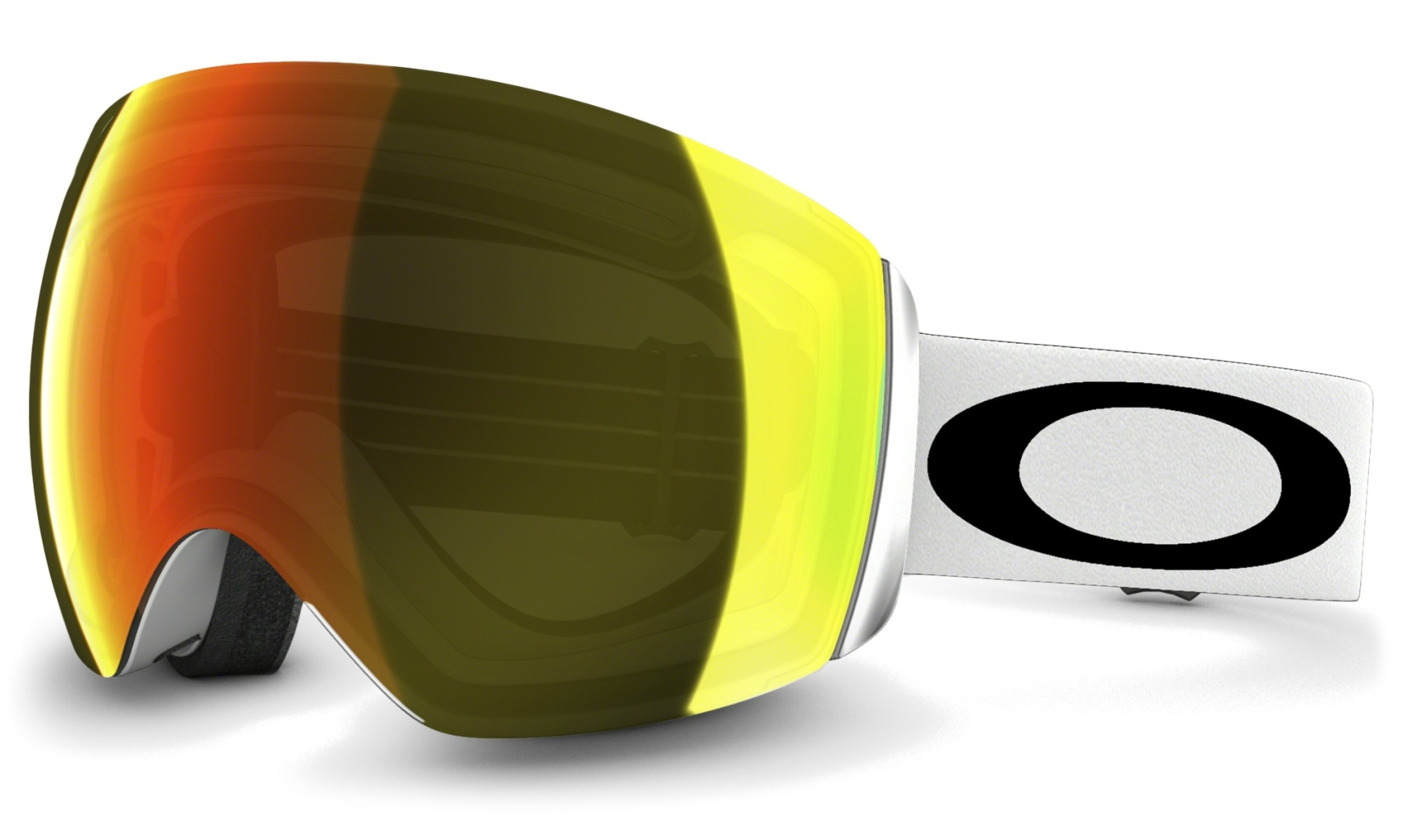 Oakley Flight Deck Matte White w/Fire Irid-30