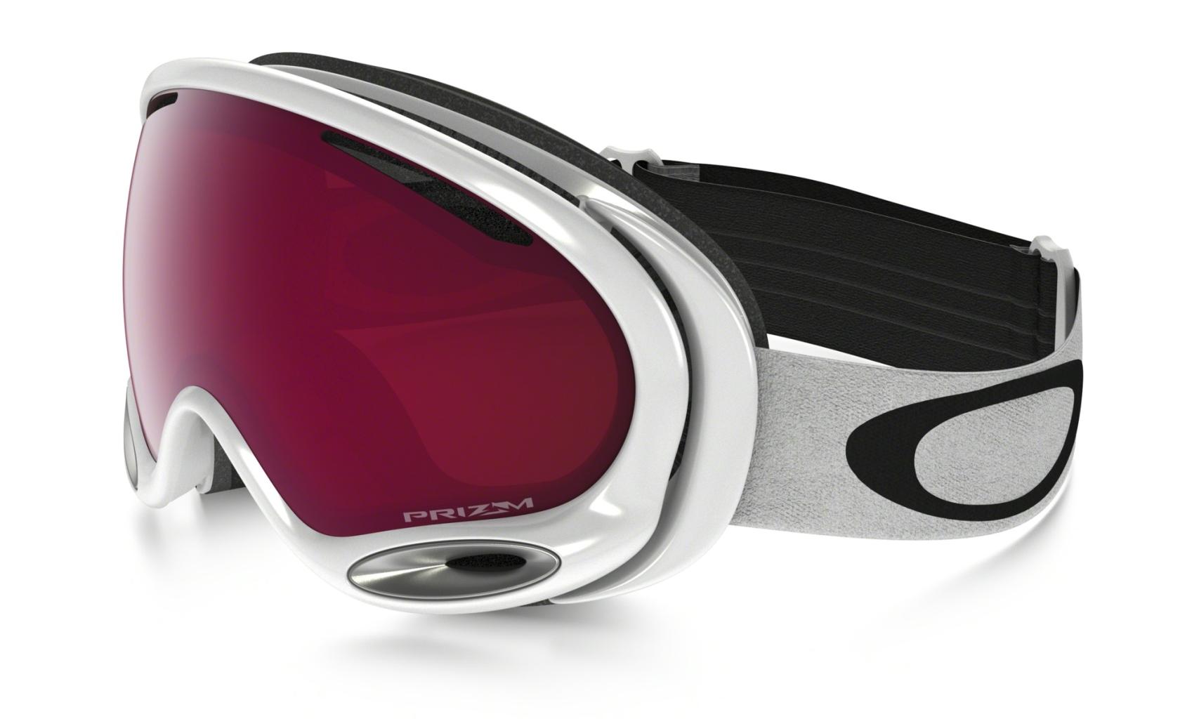 Oakley A Frame 2.0 Frame: POLISHED WHITE Lens: PRIZM ROSE-30