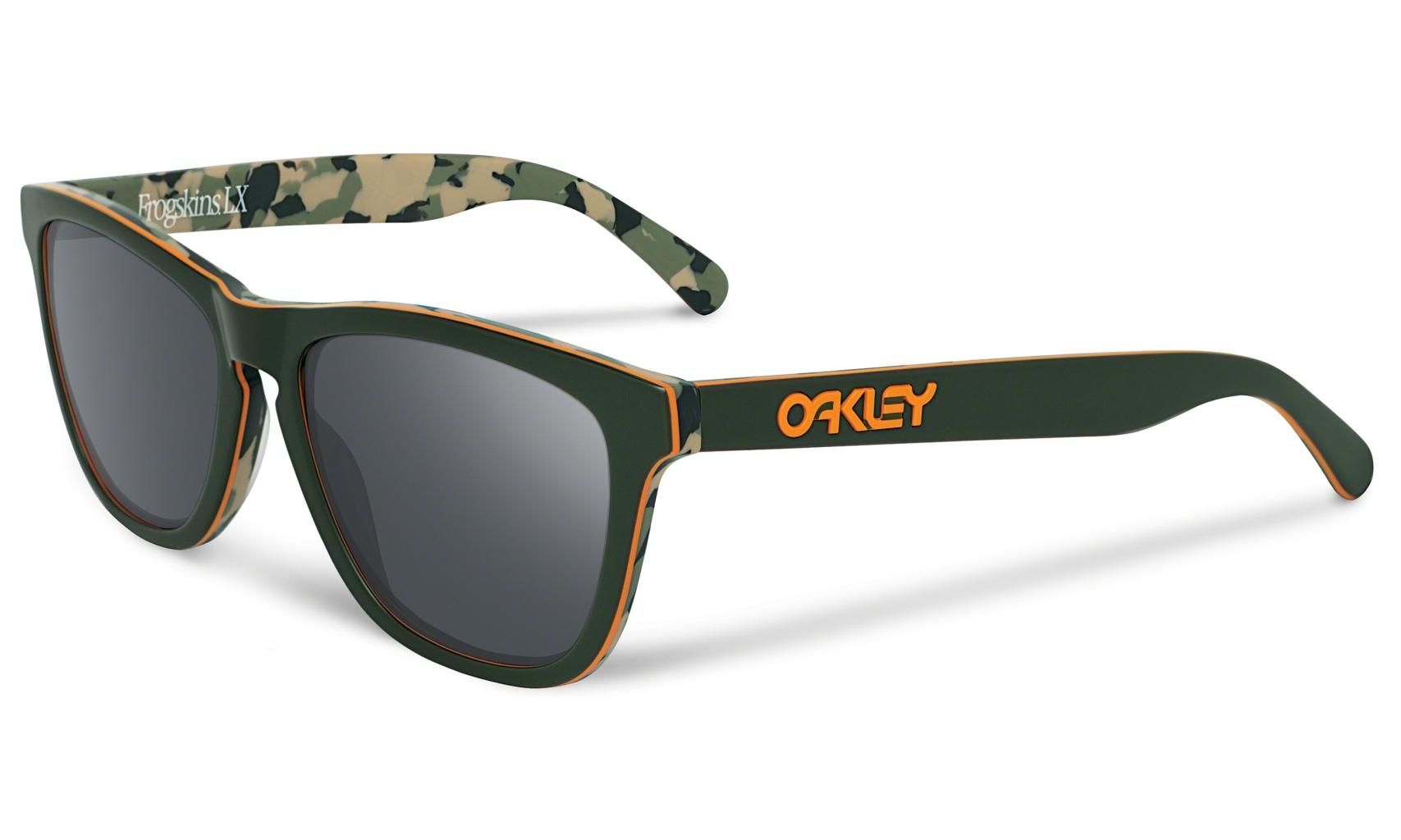 Oakley Frogskin LX KostonLXMatteCamoGreenw/BlkIrd-30