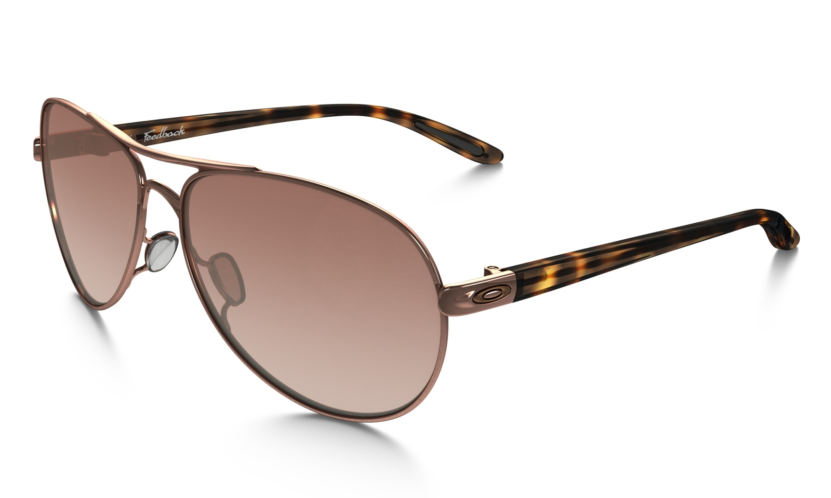 Oakley Feedback Rose Gold w/VR50 Brown Grad-30