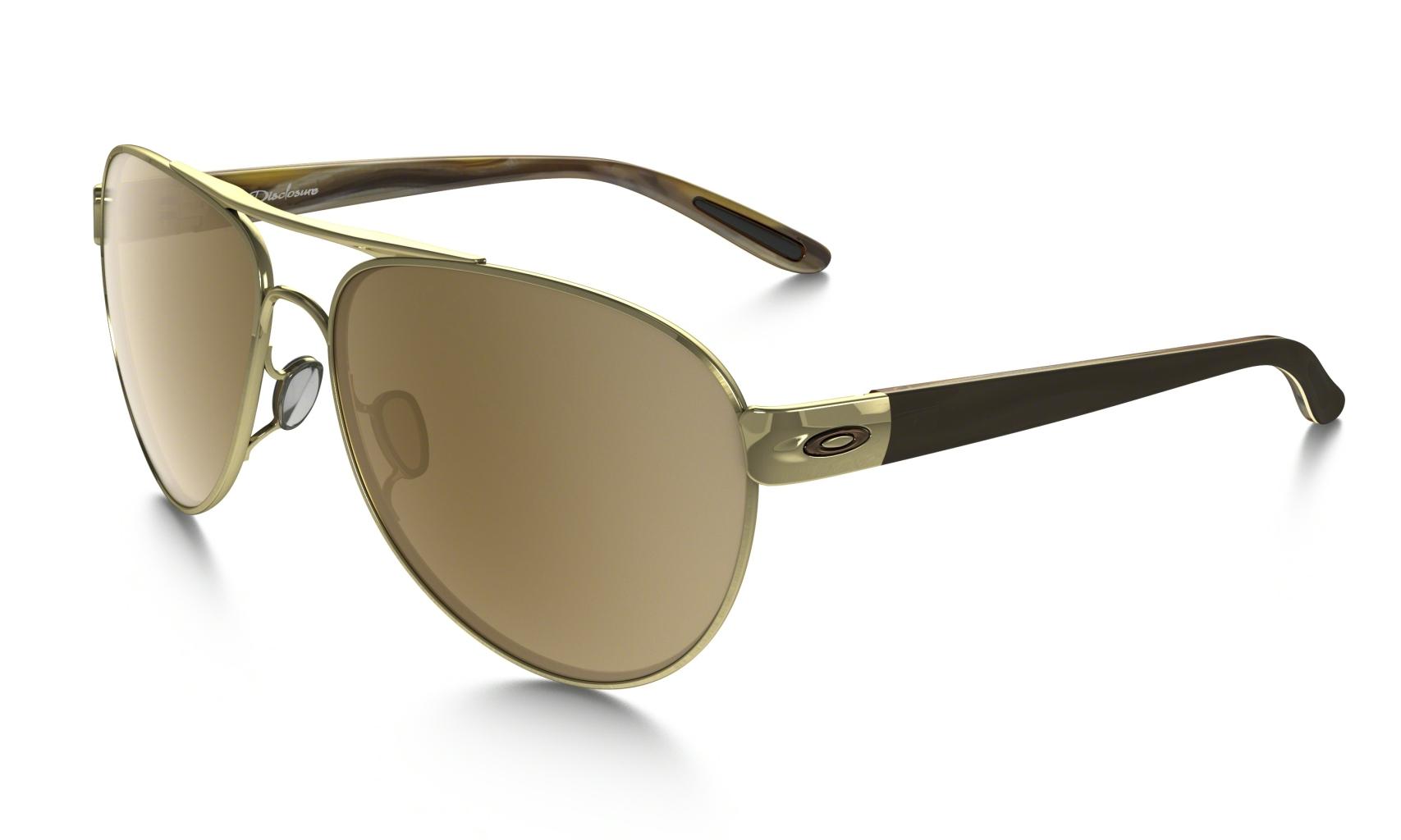 Oakley Disclosure Pol Gold w/Tungsten Iridium-30