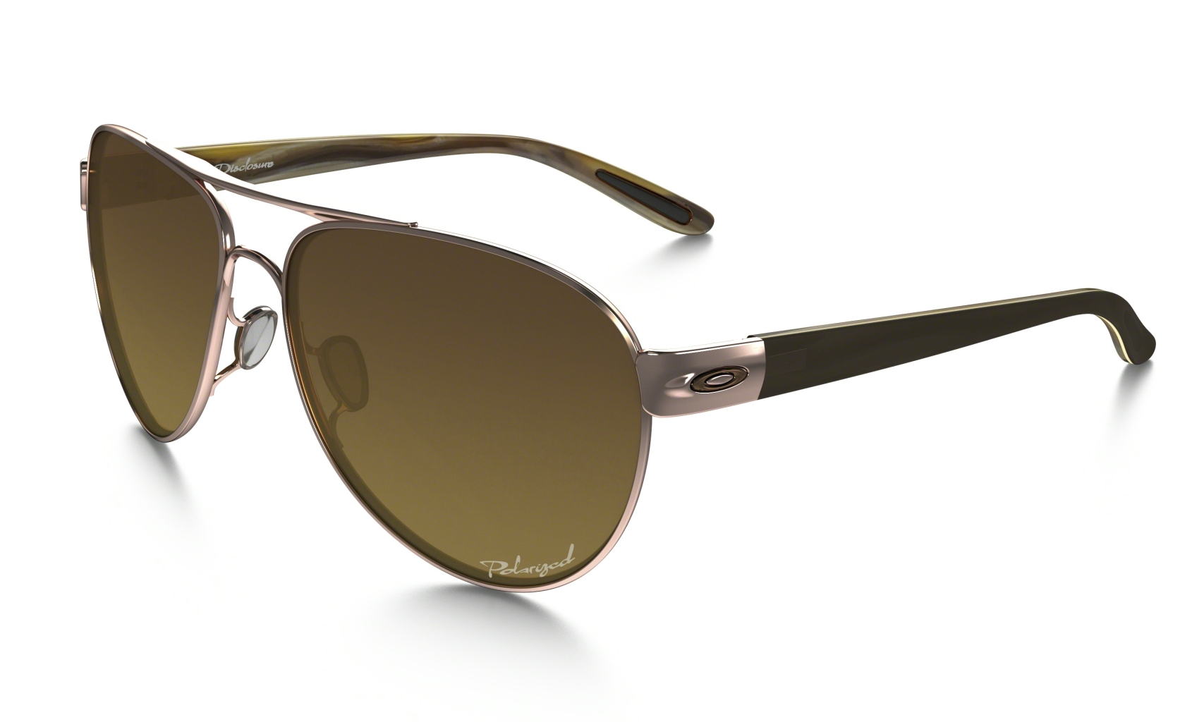 Oakley Disclosure Rose Gold w/Brown Grad Polar-30
