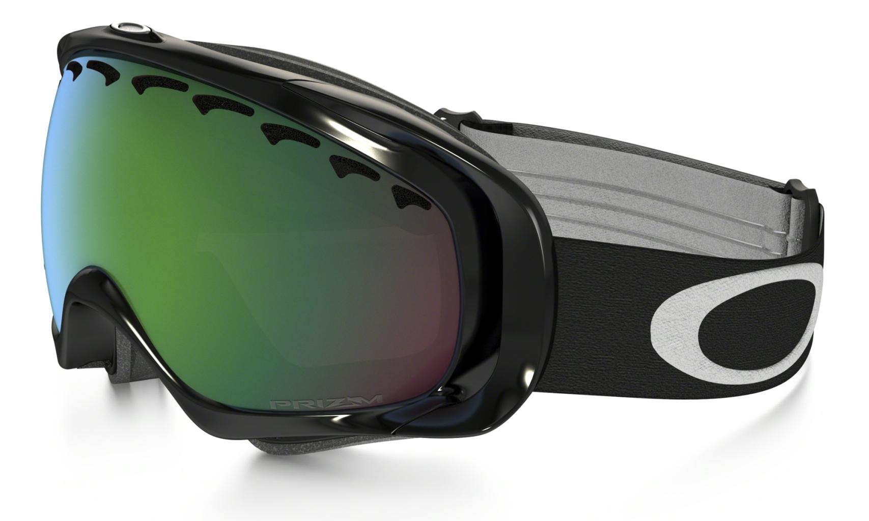 Oakley Crowbar Jet Black w/Jade Irid-30