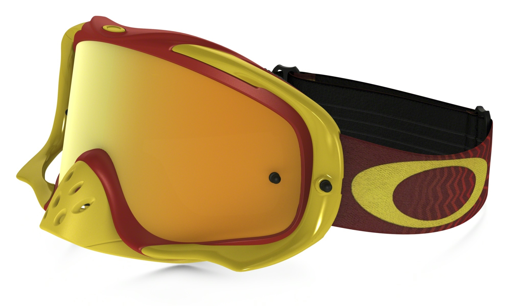Oakley Crowbar MX Shockwave Red Yel w/24kIrid+Clr-30