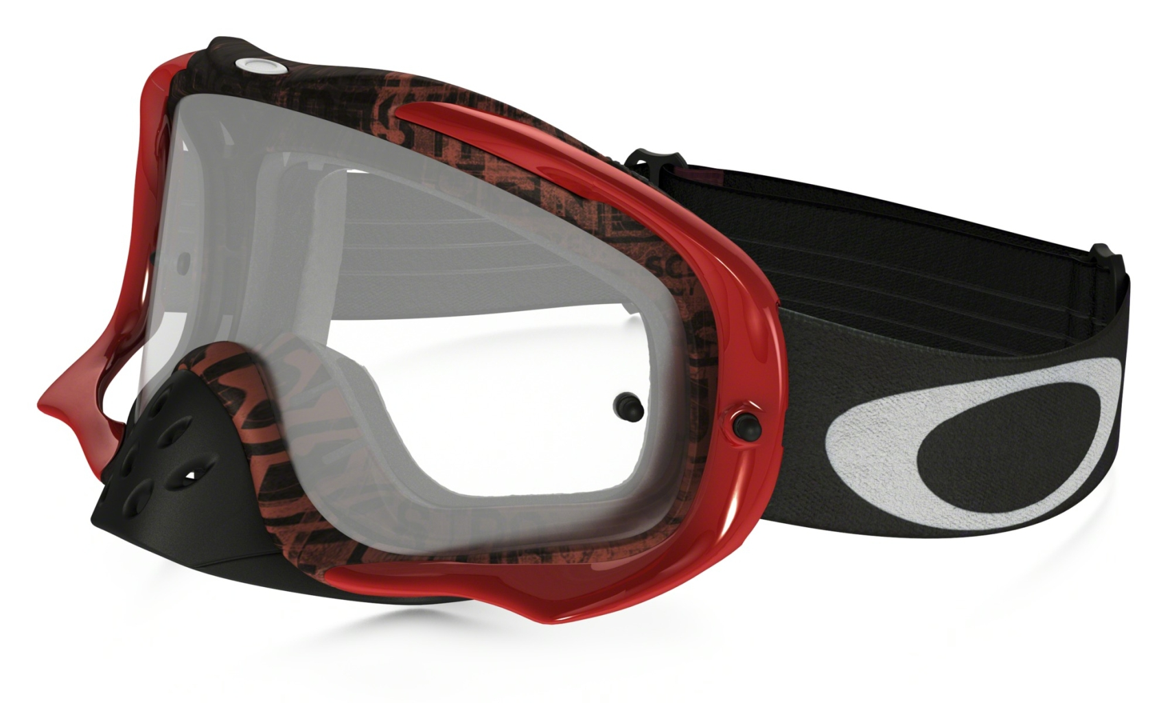 Oakley Crowbar MX Distress TaglineRed Purple w/Clr-30