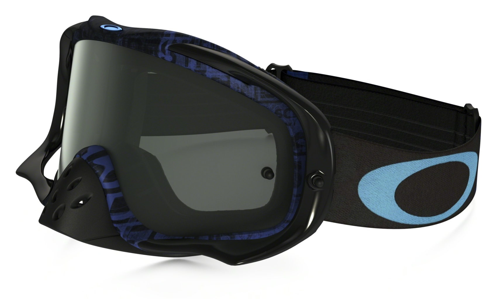 Oakley Crowbar MX DistressTaglineStlth Blu w/DkGry-30