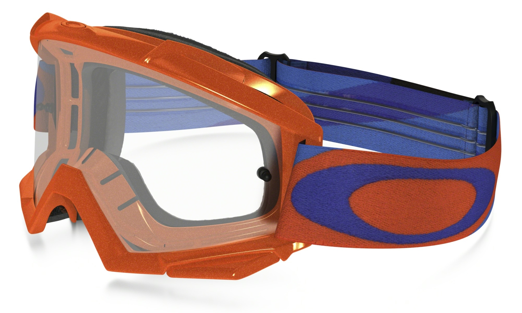 Oakley Proven MX HeritageRacer OrgBlue w/Clear-30