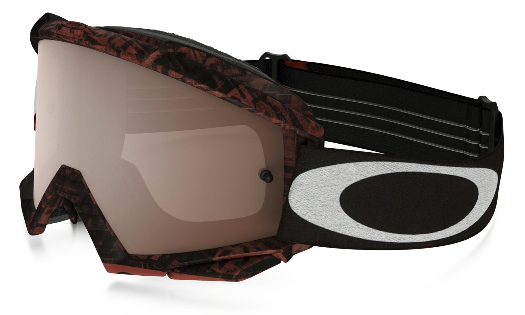 Oakley Proven Mx DistressTaglineRedBlk w/Blk+Clr-30