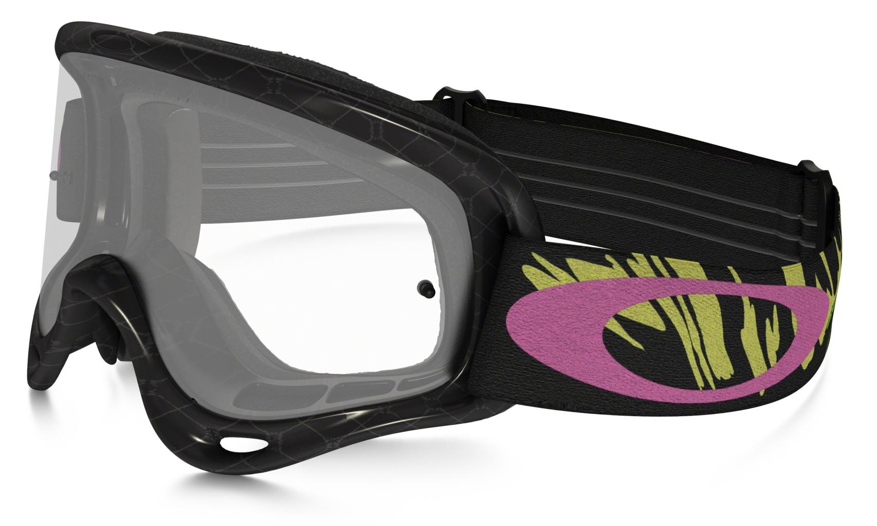 Oakley O Frame MX Razorwire Pink/Rose w/Clear-30