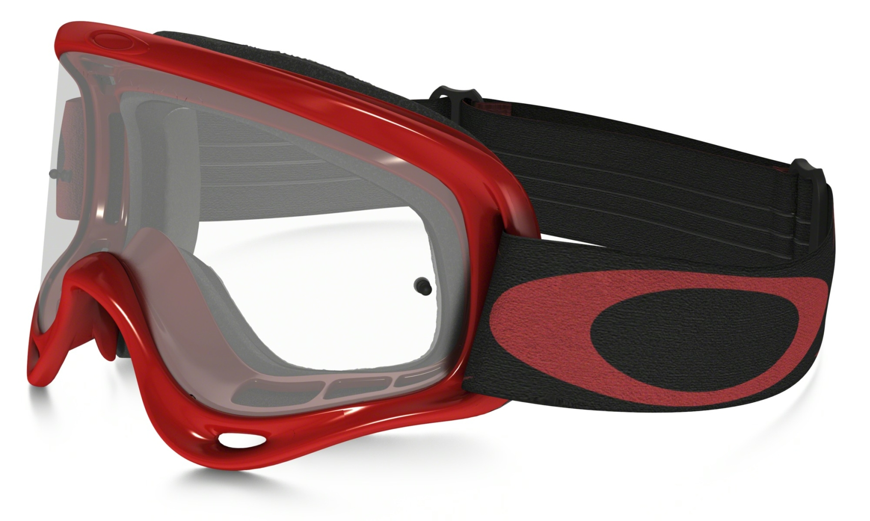Oakley XS O Frame MX High Voltage Red w/Clear-30