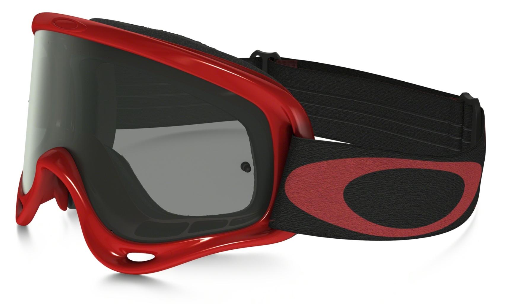 Oakley XS O Frame MX XSMxSandHighVoltageRedw/DkGry&Clr-30