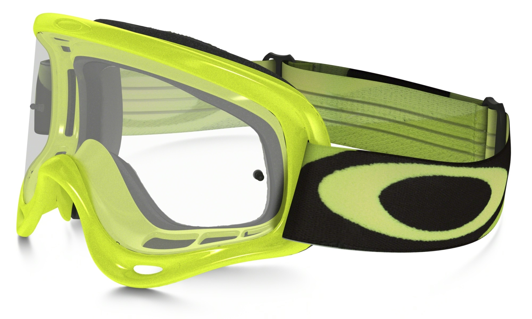Oakley Xs O Frame Mx Heritage Racer Green w/Clear-30